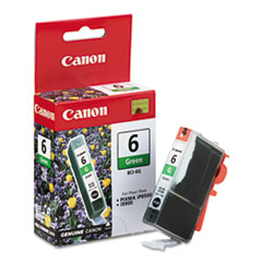CNMBCI6G - Canon BCI6G (BCI-6) Ink Tank, 370 Page-Yield, Green
