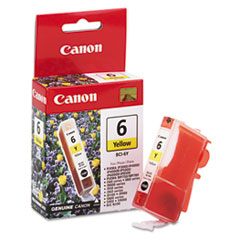 CNMBCI6Y - Canon BCI6Y (BCI-6) Ink, 370 Page-Yield, Yellow
