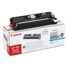CNMEP87C - Canon EP87C (EP-87) Toner, 4,000 Page-Yield, Cyan