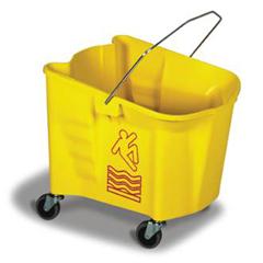 CON226-3YW - ContinentalSplash Guard™ Mop Bucket