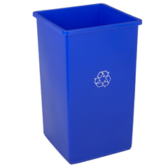 CON25-1 - ContinentalSwingline™ Square Recycling Receptacles
