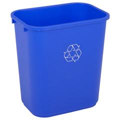 CON2818-1 - ContinentalRectangular Recycling Wastebaskets