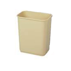 CON2818BE - ContinentalCommercial Plastic Rectangular Wastebaskets