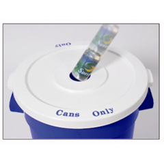 CON3201-1 - Continental - Huskee™ Round Recycling Lids