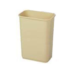 CON4114BE - ContinentalCommercial Plastic Rectangular Wastebaskets