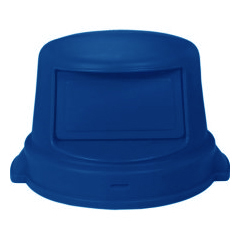 CON4456BL - ContinentalDome Top Lids for 44 Gallon Huskee™ Container