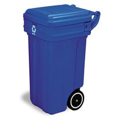 CON5850-1 - ContinentalTilt-N-Wheel™ Recycling Receptacle