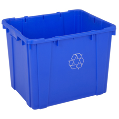 CON5914-1CS - ContinentalHuskee™ Curbside Recycling Bin