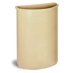 CON8321BE - ContinentalHalf Round Wall Hugger™ Receptacles