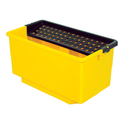 CONCB-5YW - Continental - ErgoWorx Solution Bucket with Perforated Screen