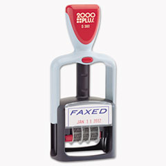 COS011032 - COSCO 2000 PLUS® Self-Inking Two-Color Word Dater