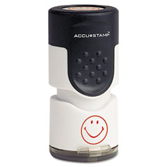 COS030725 - Accustamp Pre-Inked Round Stamp with Microban