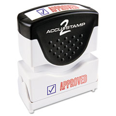 COS035525 - Accustamp2 Pre-Inked Shutter Stamp with Microban®