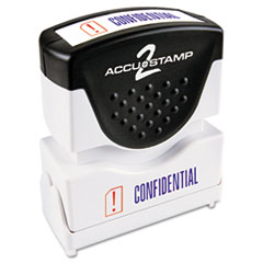 COS035536 - Accustamp2 Pre-Inked Shutter Stamp with Microban®