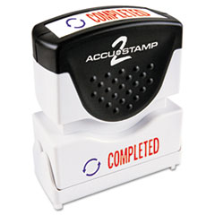 COS035538 - Accustamp2 Pre-Inked Shutter Stamp with Microban®