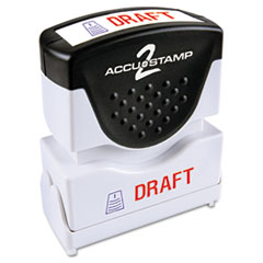 COS035542 - Accustamp2 Pre-Inked Shutter Stamp with Microban®