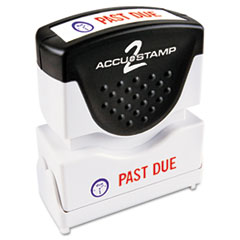 COS035543 - Accustamp2 Pre-Inked Shutter Stamp with Microban®