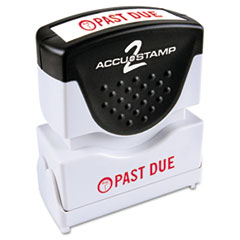 COS035571 - Accustamp2 Pre-Inked Shutter Stamp with Microban®