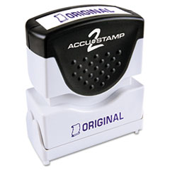 COS035572 - Accustamp2 Pre-Inked Shutter Stamp with Microban®