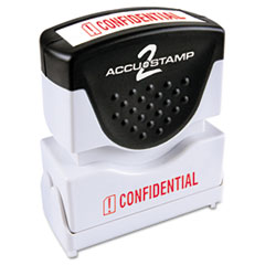COS035574 - Accustamp2 Pre-Inked Shutter Stamp with Microban®