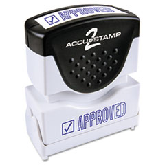 COS035575 - Accustamp2 Pre-Inked Shutter Stamp with Microban®