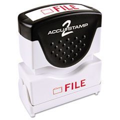 COS035576 - Accustamp2 Pre-Inked Shutter Stamp with Microban®