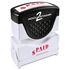 COS035578 - Accustamp2 Pre-Inked Shutter Stamp with Microban®