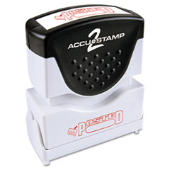 COS035580 - Accustamp2 Pre-Inked Shutter Stamp with Microban®
