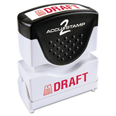 COS035585 - Accustamp2 Pre-Inked Shutter Stamp with Microban®
