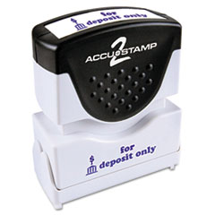 COS035601 - Accustamp2 Pre-Inked Shutter Stamp with Microban®