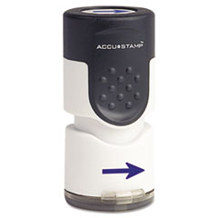 COS035654 - Accustamp Pre-Inked Round Stamp with Microban