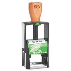 COS039307 - 2000 PLUS® Green Line Self-Inking Heavy Duty Stamp