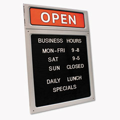 COS098221 - COSCO Message & Business Hours Sign