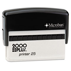 COS1SI25P - 2000 PLUS® Self-Inking Custom Message Stamp with Microban
