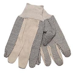 SFZGCD8-MN - Safety Zone - Mens Cotton Canvas Gloves w/PVC Dots