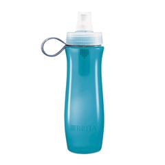 COX35558 - Brita® Soft Squeeze Water Filter Bottle - Aqua Blue