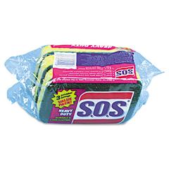 COX91029CT - S.O.S® Heavy Duty Scrubber Sponge