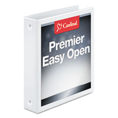 CRD11110 - Cardinal® EasyOpen® ClearVue™ Locking Round Ring View Binder