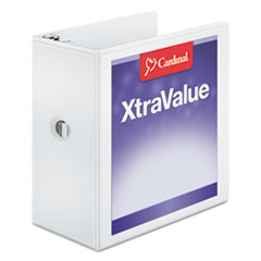 CRD17950 - Cardinal® XtraValue™ ClearVue™ Slant-D® Ring View Binder