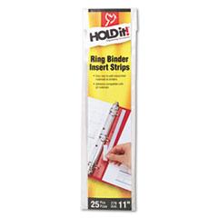 CRD21110 - Cardinal® HOLDit!® Binder Insert Strip