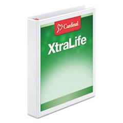 CRD26300 - Cardinal® XtraLife® Non-stick ClearVue™ Locking Slant-D® Ring View Binder