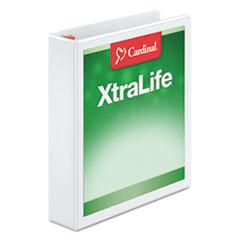 CRD26310 - Cardinal® XtraLife® Non-stick ClearVue™ Locking Slant-D® Ring View Binder