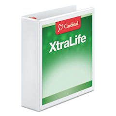 CRD26320 - Cardinal® XtraLife® ClearVue™ Non-Stick Locking Slant-D® Ring Binder