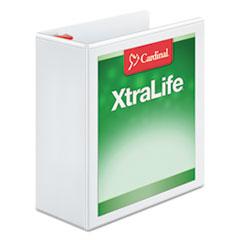 CRD26340 - Cardinal® XtraLife® ClearVue™ Non-Stick Locking Slant-D® Ring Binder