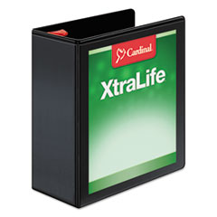 CRD26341 - Cardinal® XtraLife® Non-stick ClearVue™ Locking Slant-D® Ring View Binder