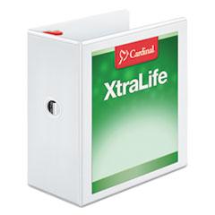 CRD26350 - Cardinal® XtraLife® ClearVue™ Non-Stick Locking Slant-D® Ring Binder