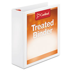CRD32130 - Cardinal® Treated ClearVue™ Binder with Locking Slant-D® Rings