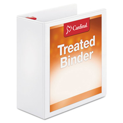 CRD32140 - Cardinal® Treated ClearVue™ Locking Slant-D® Ring Binder