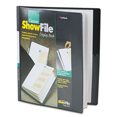 CRD50132 - Cardinal® ShowFile™ Presentation Book with Custom Cover Pocket