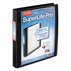 CRD54651 - Cardinal® SuperLife™ Pro Easy Open® ClearVue™ Locking Slant-D® Ring Binder